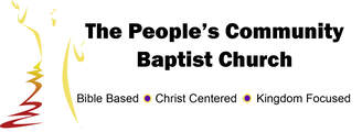 THE PEOPLE'S COMMUNITY BAPTIST CHURCH